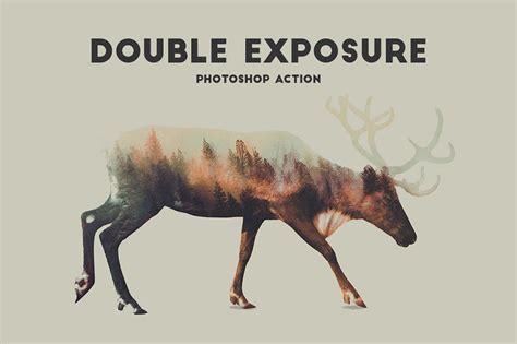 double exposure action tutorial double exposure photoshop action pro design cuts design cuts