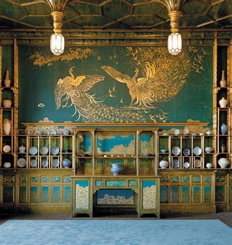 whistler peacock room the story the peacock room s princess arts culture smithsonian