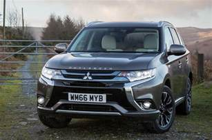 Mitsubishi Outlander Review 2017 Mitsubishi Outlander Phev 5h Review Autocar