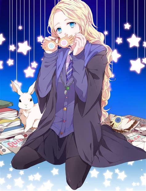 what house was luna lovegood in luna lovegood harry potter image 1606636 zerochan anime image board