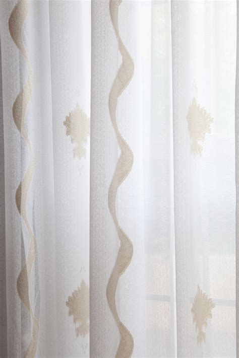 Sheer Fabric For Curtains Designs Aegean Sheer Curtains Gold