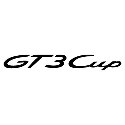 porsche logo png porsche gt3 cup logo decal