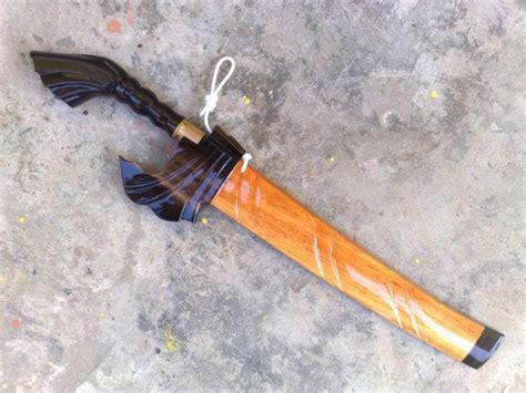 Pisau Kayu 8 koleksi pisau parang dan golok pisau coil kayu malam kulimpapa tanduk