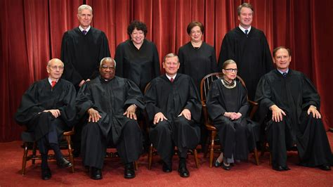 supreme court justices the 2018 supreme court justices