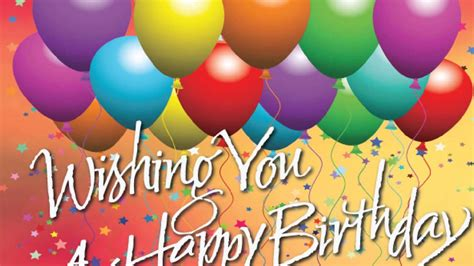 The 100 happy birthday wishes youtube