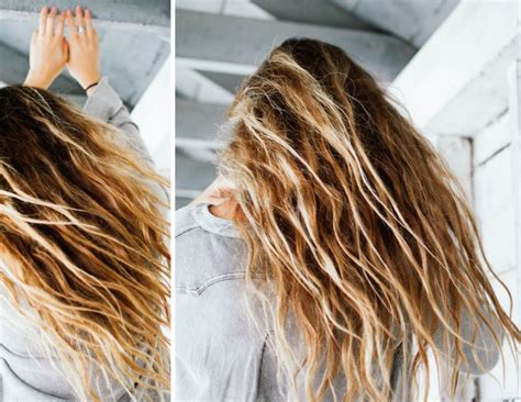 Air Dried Hair Is Beachy by 5 Ways To Prevent Frizz When Air Drying Your Hair Society19