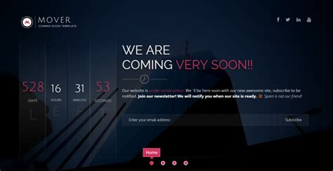 8 Coming Soon Pages That Will Surely Blow Your Visitors Away Coming Soon Template