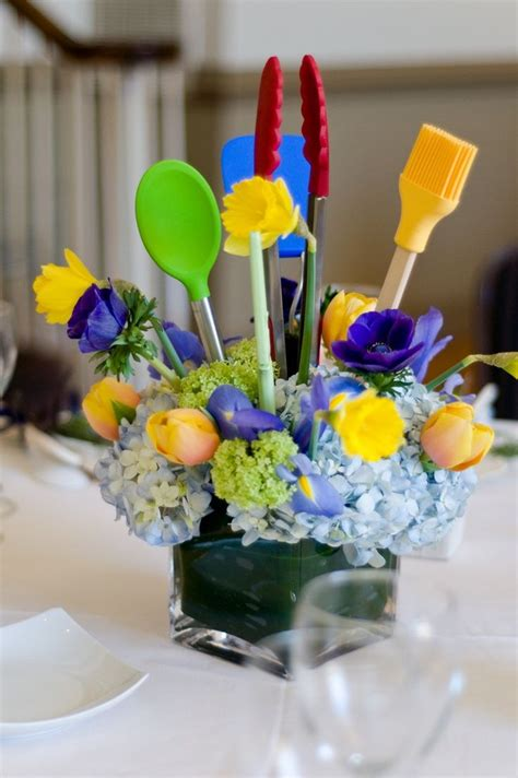 kitchen themed bridal shower ideas best 25 bridal shower centerpieces ideas on