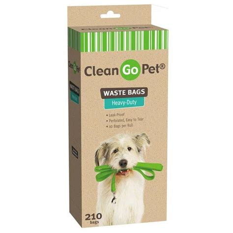 Goin Gingham Pet Pet Pet Product 7 by Clean Go Pet Heavy Duty Waste Bag 21 Ct Jet