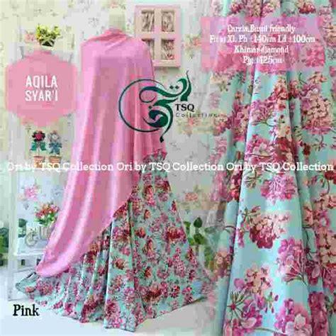 Syari Umbrella Bunga By Jannatin baju gamis cantik aqila syar i busana muslim cantik murah