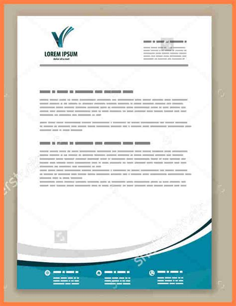 business stationary templates 6 best letterhead templates company letterhead