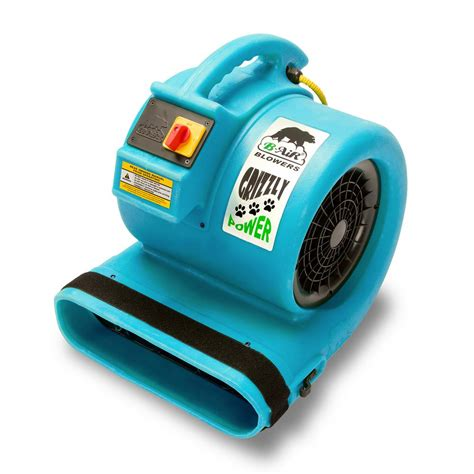 floor drying fans home depot b air 1 hp air mover for water damage restoration carpet