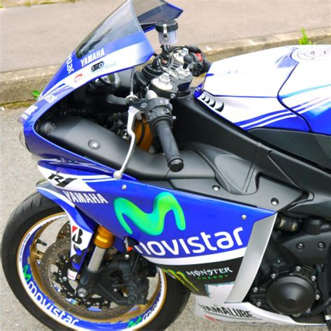 Yamaha Rn22 Aufkleber by Motorradaufkleber Bikedekore Wheelskinzz Yamaha R1
