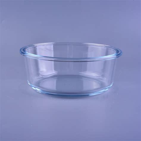 borosilicate glass promotional clear high borosilicate glass bowl glass