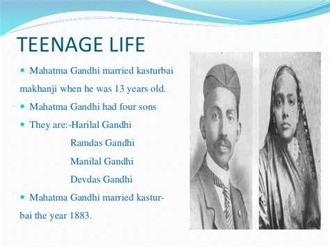 mahatma gandhi early life and background gandhian era