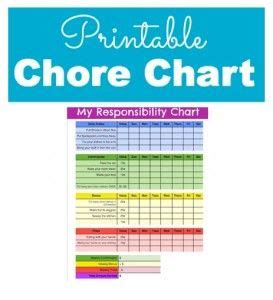 allowance chart template free printable chore chart for helpful hints