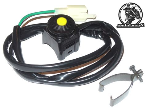 Motorrad Bremsflüssigkeitsbehälter öffnen by E Startschalter E Start Elektrostarter Schalter Taster