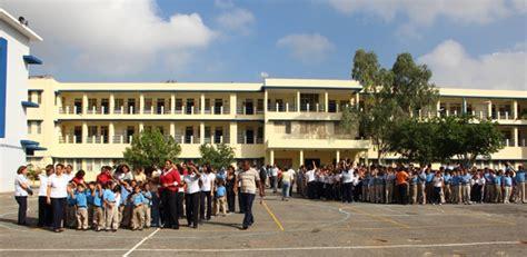 colegio dominicano de la salle santo domingo simulacro de evacuacion del colegio dominicano de la salle