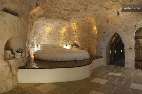 cave bedroom columbarium is an eco luxe cave dwelling in israel green