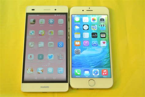 iphone themes for huawei p8 lite huawei p8 lite vs iphone 6 ios 9 apps opening speed test