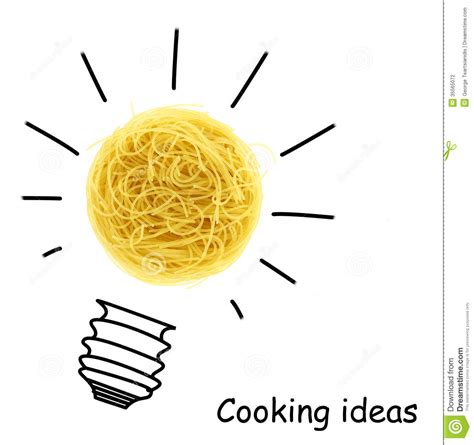 creative cooking ideas stock photography image 35565072