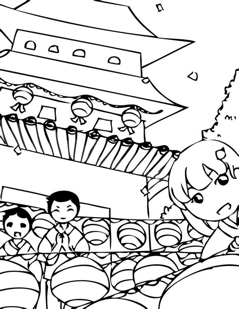 coloring book korea buddha s birthday coloring page handipoints