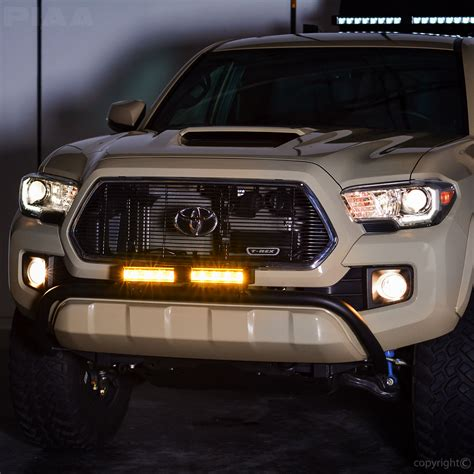 led fog light bar piaa piaa rf series 10 quot led light bar yellow fog beam