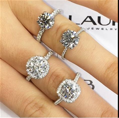 Diamonds On Engagement Band by Band Thickness For Your Engagement Ring Ring