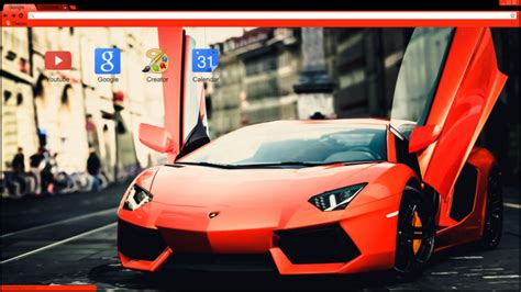 theme chrome lamborghini hot orange lamborghini chrome theme themebeta