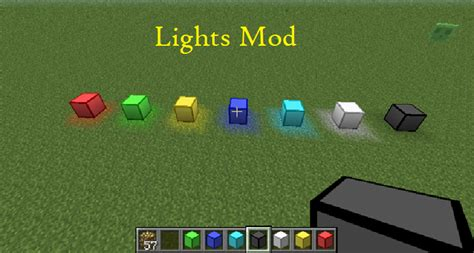 minecraft lights mod lights mod