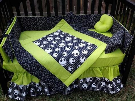 Jack Skellington Crib Day Bed Sheets For My Army Of Nightmare Before Baby Crib Bedding
