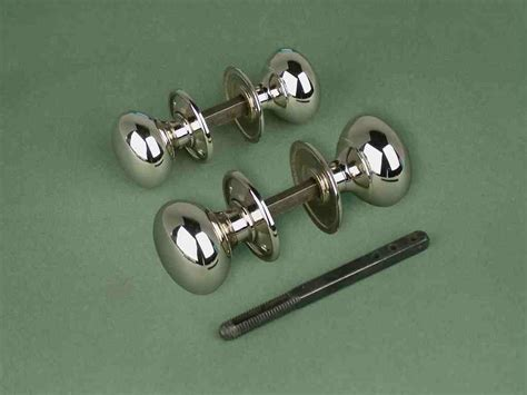 Small Door Knobs by Nickel Cottage Door Knob Set Small Hdk3 163 25 00