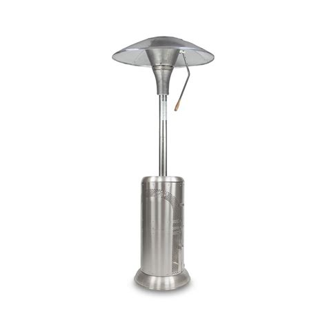Mirage Patio Heater Mirage 48 000 Btu Stainless Steel Commercial Grade Heat Focusing Propane Patio Heater 48 000btus