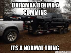 funny cummins vs duramax meme