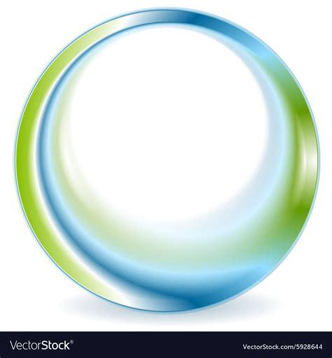 circle logo design swash blue green stock vector 254031382 bright green blue round circle logo design vector image