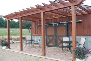 Barn Wood Pergola by The Farm And Garden In Pictures July S Edition Old