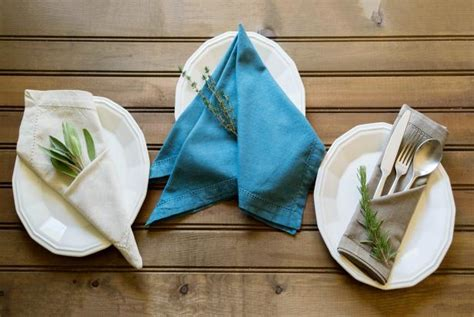 how to fold table napkins 3 simple ways to fold a napkin diy made