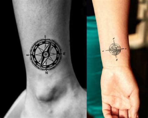 74 awesome compass wrist tattoo designs