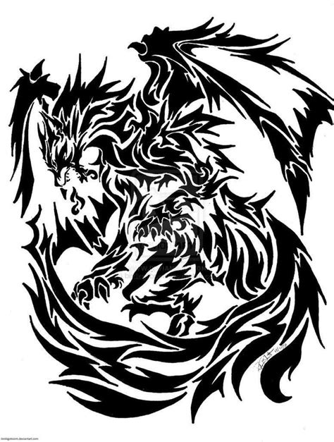 celtic dragon tattoo designs free black celtic stencil projects to try