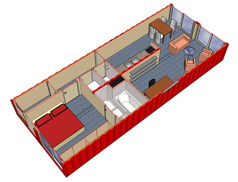 Floor Plans For Shipping Container Homes by Keetwonen Container City Amsterdam Wohnbu De