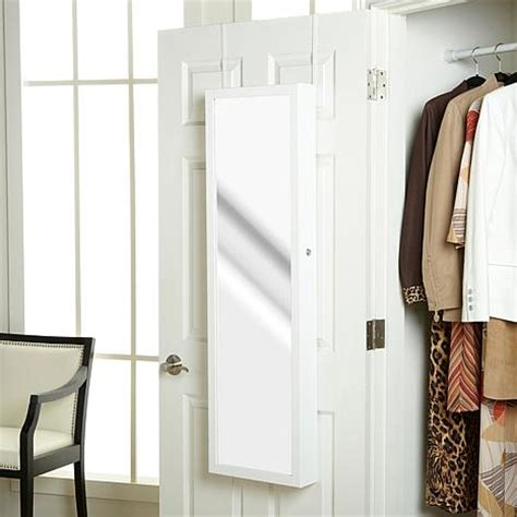 over the door beauty armoire with full length mirror over the door beauty armoire with full length mirror hsn