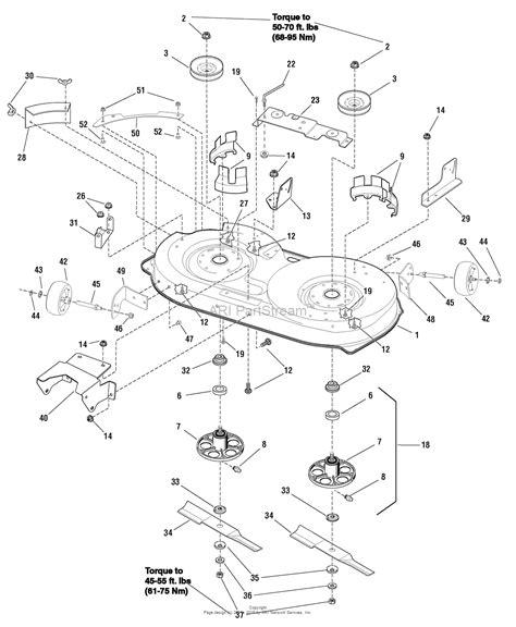 murray lawn mower deck parts diagram murray 7800562 mt175420 17 5hp 42 quot hydro drive manual