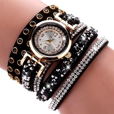 Helicopter Wall Stickers duoya brand crystal bracelet watch women women