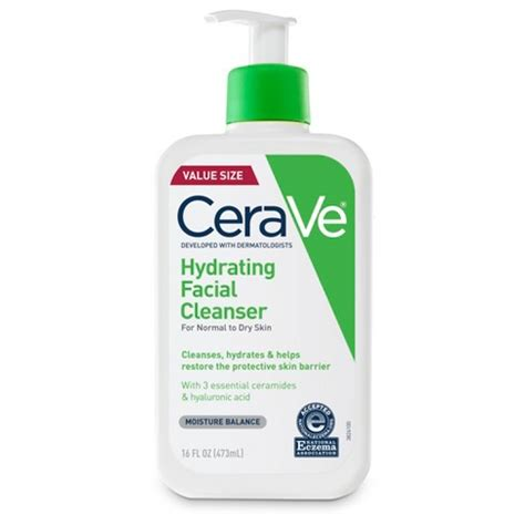 Wardah Cleanser Hydrating Skin cerave hydrating cleanser for normal to skin fragrance free 16oz target