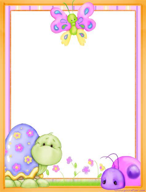 imagenes de uñas infantiles decoradas marcos de primavera para cartas tarjetas y carteles