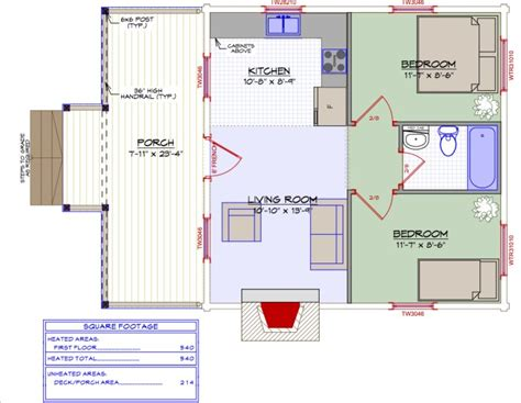 540 sq ft floor plan the simple reason why this 540 sq ft log cabin feels