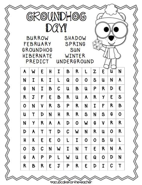 printable word search groundhog day best photos of groundhog day word search free groundhog