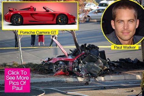 paul walker porsche crash paul walker death