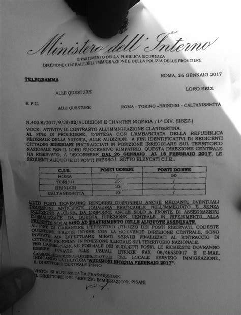 ministerodell interno in italia 232 caccia ai nigeriani l ordine viene dal