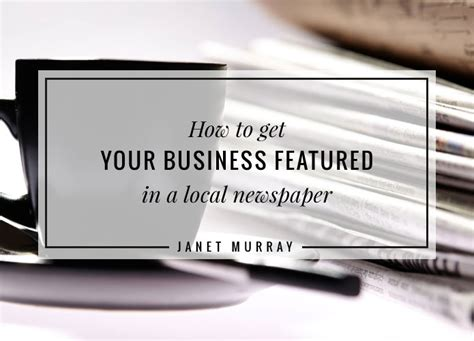 howto get your business listed on local search engines how to get your business featured in a local newspaper